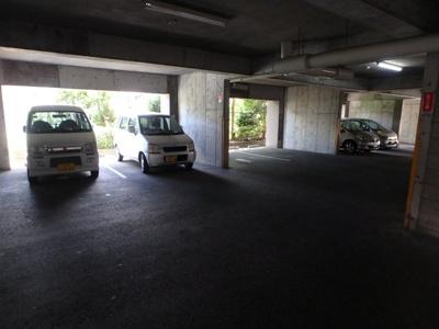 【駐車場】コーポおくだ