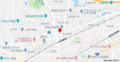 【地図】レオパレス別所新町LA1