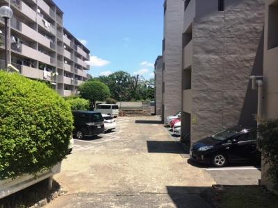【駐車場】千里ヶ丘マンションB棟