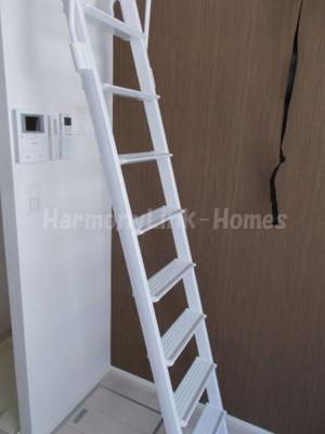 グリーンビュー西日暮里の梯子(別部屋参考写真)
