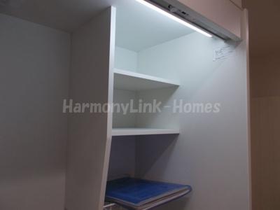 ハーモニーテラス小岩Ⅱのキッチン上部収納