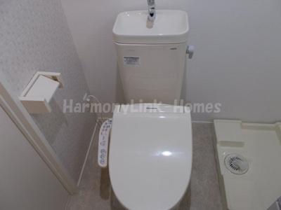 ハーモニーテラス小岩Ⅱのトイレ