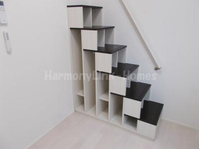 ハーモニーテラス小岩Ⅱの収納付き階段