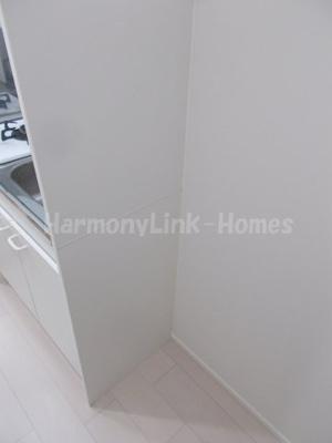 ハーモニーテラス小岩Ⅱの冷蔵庫置きスペース