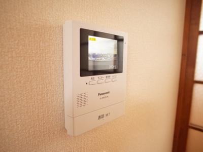 テレビ付インターホン
