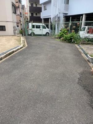 【前面道路含む現地写真】寝屋川市三井南町売土地