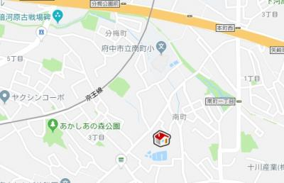 【地図】レオパレスシルバー コート(35915-203)