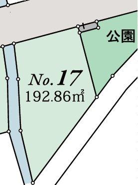 17号地 北道路