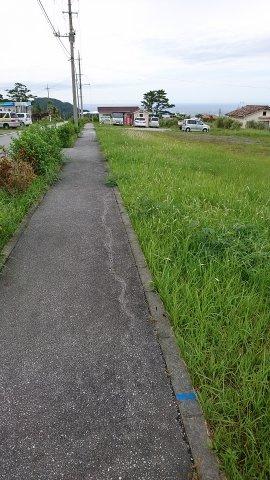 【前面道路含む現地写真】今帰仁村 U号地