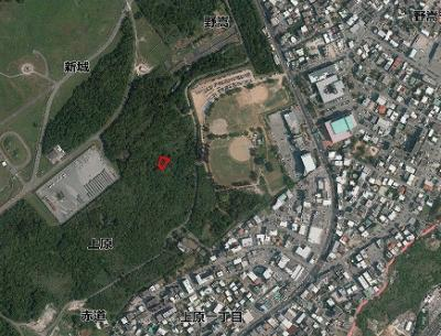 【外観】宜野湾市上原軍用地(普天間飛行場)