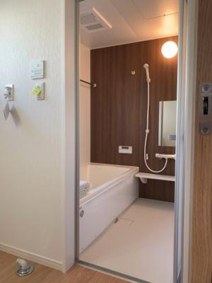 【浴室】大津市下阪本6丁目44 新築分譲