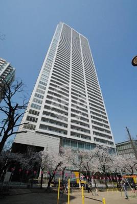 大阪ひびきの街ザ・サンクタスタワー 外観