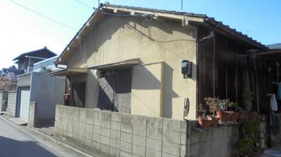 【外観】久米町平屋中古住宅