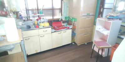 【キッチン】久米町平屋中古住宅