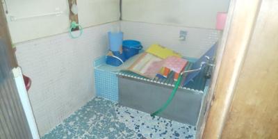 【浴室】久米町平屋中古住宅