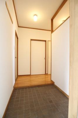 【玄関】シティハイツ狩口5号棟