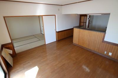 【居間・リビング】シティハイツ狩口5号棟