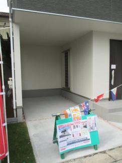 車庫2台付きです。 草加市北谷3丁目 新築戸建