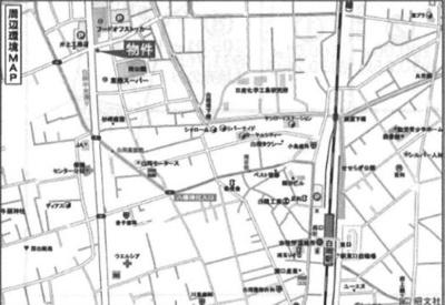 【地図】白岡市倉庫事務所