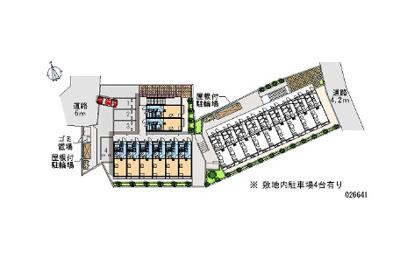 【駐車場】レオパレスTAKA Y(26641-205)