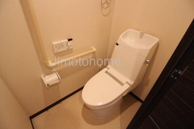 【トイレ】キングマンション市岡みなとベルクス