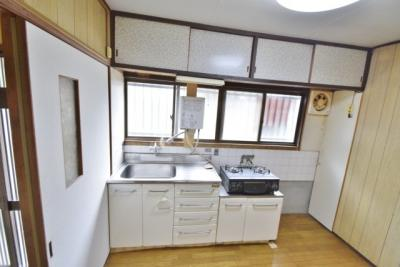 【キッチン】天美東1丁目貸家