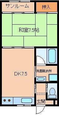 【外観】コーポマイティ