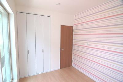 【施工例】洋室 壁紙が可愛い洋室!