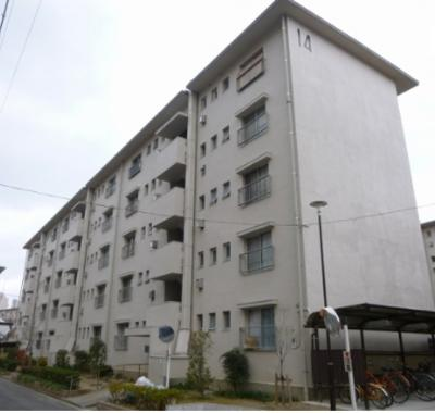 【外観】下野池第二住宅14棟(金岡小学校)