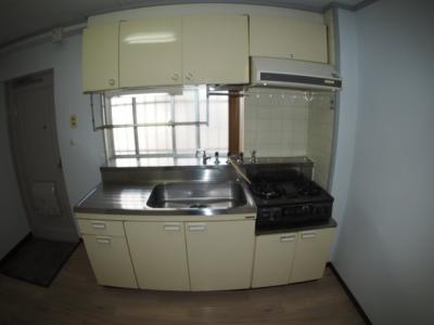 【キッチン】ホリオマンション