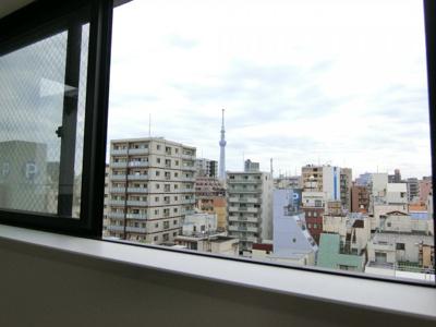 お部屋からの眺望です