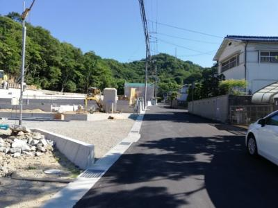 【前面道路含む現地写真】西蒲田第7新築戸建て 2号地