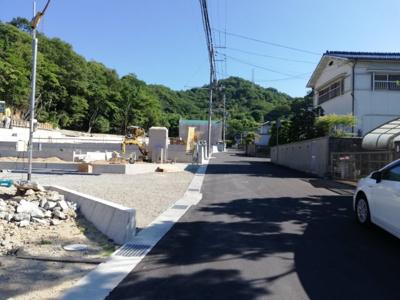【前面道路含む現地写真】西蒲田第7新築戸建て 3号地
