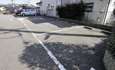 【駐車場】ハーフムーン