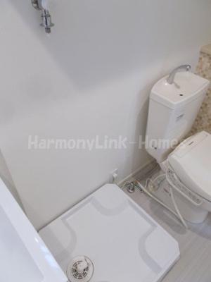 VERGER五反野の室内洗濯機置き場☆