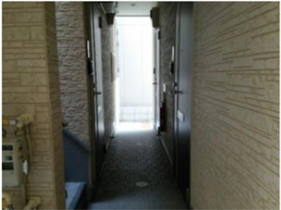 ハーモニーテラス菊川の表玄関
