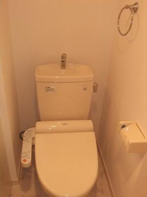 ティラ森下のトイレ(同一仕様写真)
