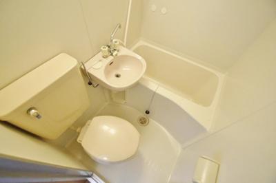 【浴室】オリーブハウスⅠ