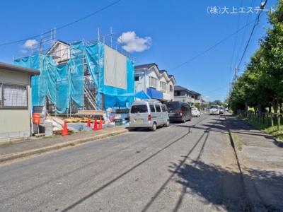 【前面道路含む現地写真】取手市戸頭6丁目2期 1号棟
