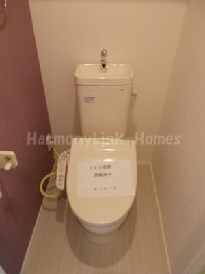 グランテラス 東白楽のトイレ