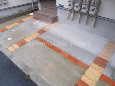 グランテラス 東白楽の駐輪スペース