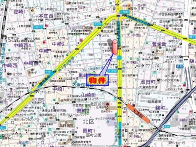【地図】桂sTENROKU