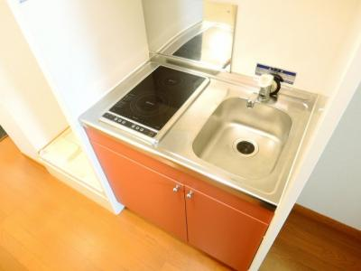 【キッチン】レオパレスドリームハイツ氷室