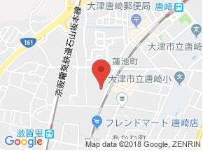 【地図】メリノハイツ