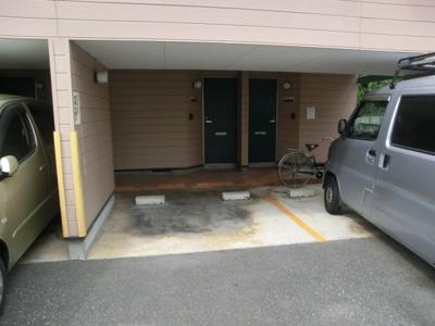 駐車場付き物件です☆