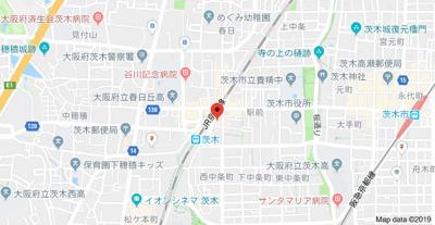 【地図】フェリーチェ茨木
