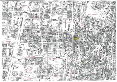 【地図】紫野西土居町 新築戸建