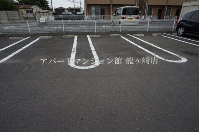 【駐車場】サザンクロス阿見Ⅲ