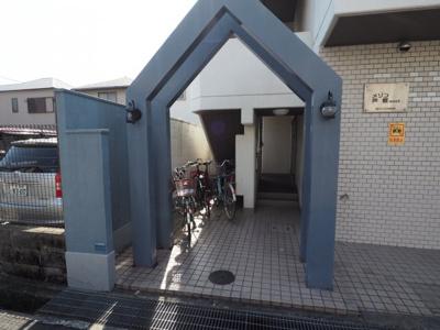 【エントランス】メゾン芦屋WEST