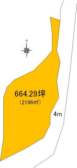 【土地図】常陸大宮市長倉土地
